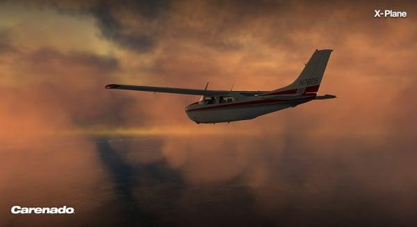 CARENADO - CT206H Stationair  Xplane V2