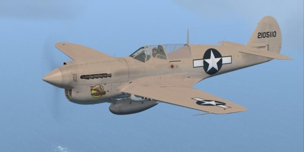 Flight Replicas - Curtiss P-40N Warhawk
