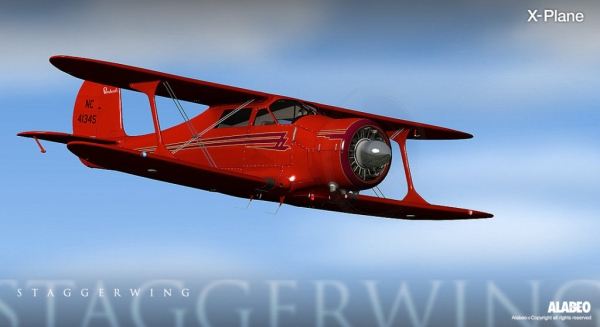 ALABEO - D-17 Staggerwing X-plane