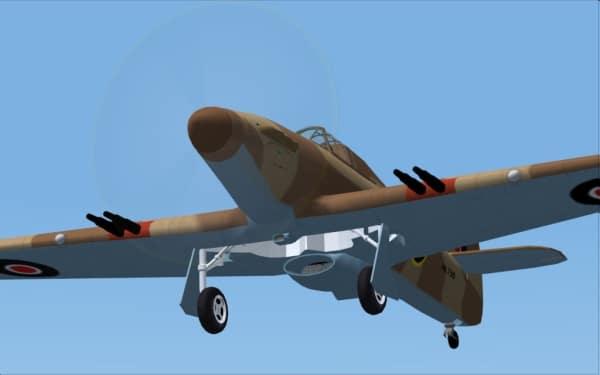 SIMBATTLEBIRDS - Hawker Hurricane