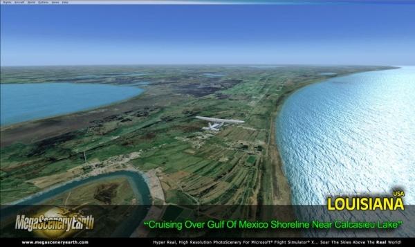 PC AVIATOR - Megascenery Earth - Luisiana