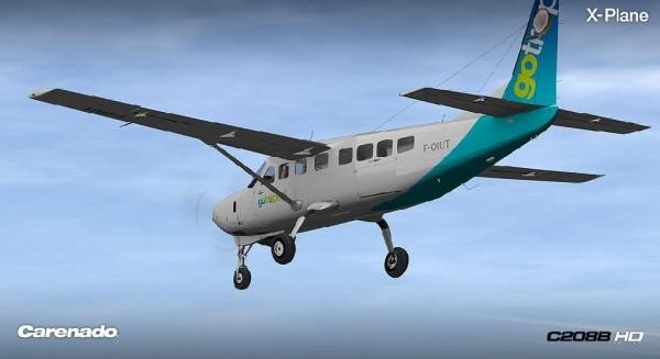 CARENADO - Cessna C208B Grand Caravan Xplane V2
