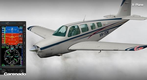 CARENADO - A36 Bonanza Xplane V2