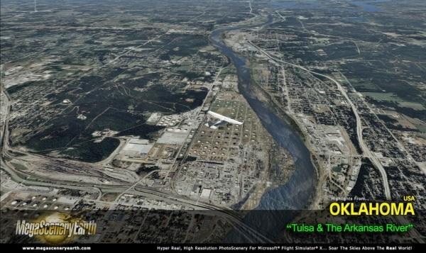 PC AVIATOR - Megascenery Earth - Oklahoma
