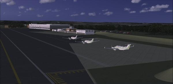 RJ SIM - VFR Biggin Hill