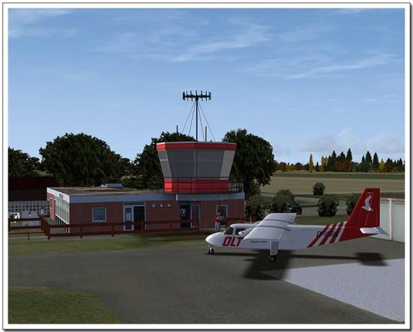 AEROSOFT - VFR AIRFIELDS - Heide-Buesum (EDXB)