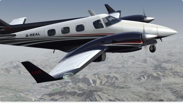 REALAIR - Beechcraft Duke B60 V 2