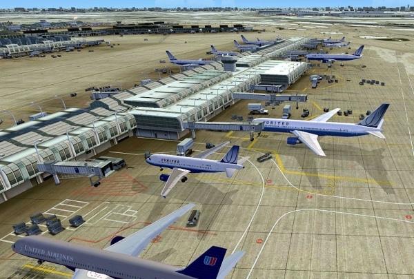 FSDreamTeam - Chicago O'Hare airport