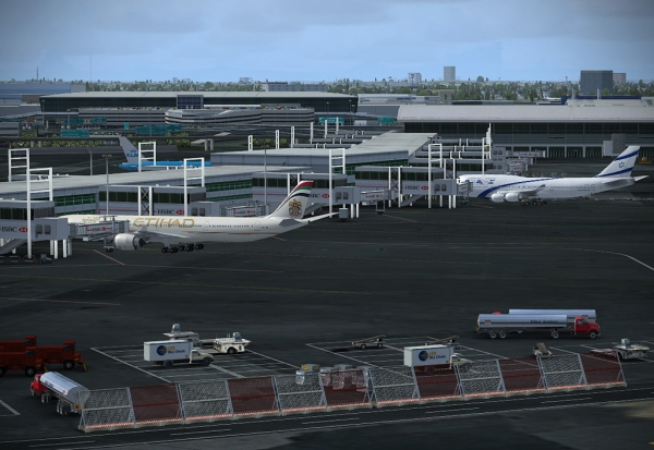 FSDREAMTEAM - New York JFK Airport v2