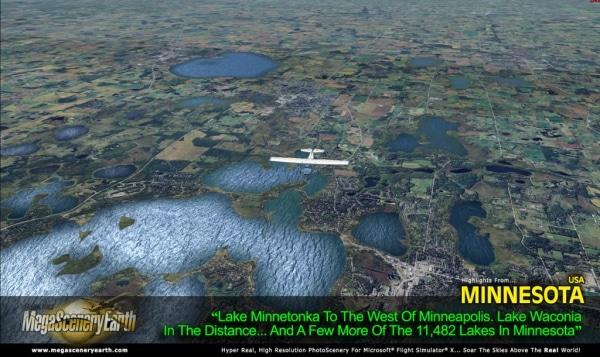 PC AVIATOR - Megascenery Earth - Minnesota