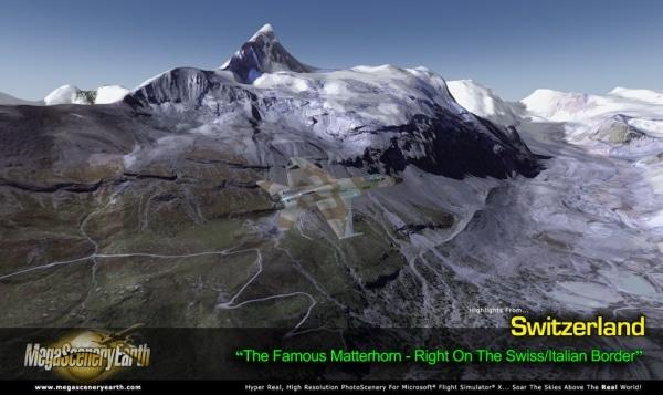 PC AVIATOR - Megascenery Earth - Svizzera