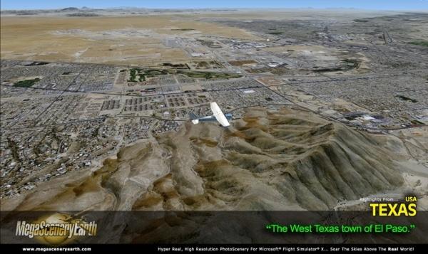 PC AVIATOR - Megascenery Earth - West Texas