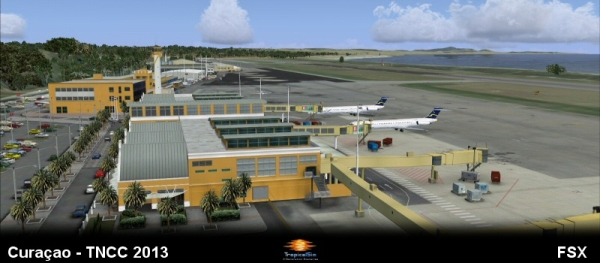 LATINVFR - Curacao International Airport
