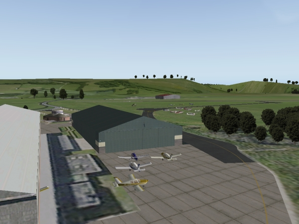TABURET - Bembridge Airport X-Plane 10