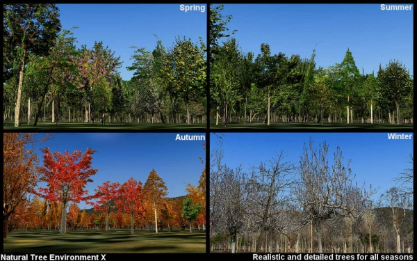 ZINERTEK - Natural Tree Environment X