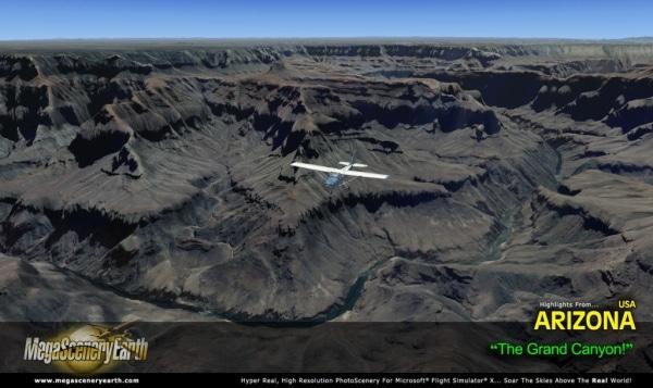 PC AVIATOR - Megascenery Earth - Arizona