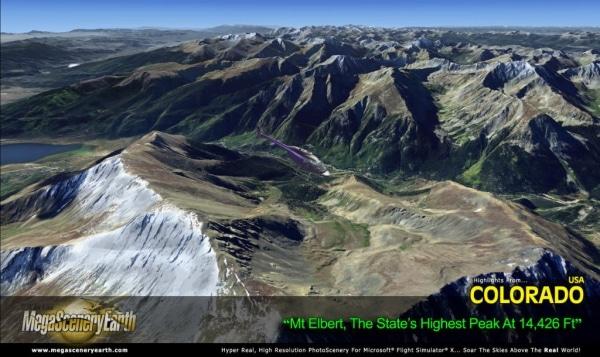 PC AVIATOR - Megascenery Earth - Colorado
