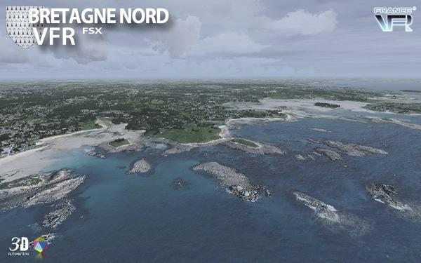 FRANCEVFR - Bretagne VFR V2