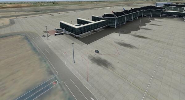 CONTRAIL SIMULATIONS LLC - Queen Alia International airport