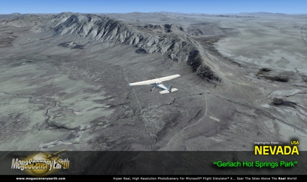 PC AVIATOR - Megascenery Earth - Nevada