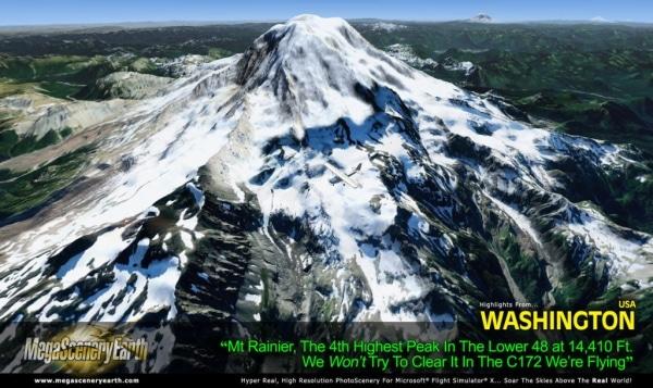 PC AVIATOR - Megascenery Earth - Washington