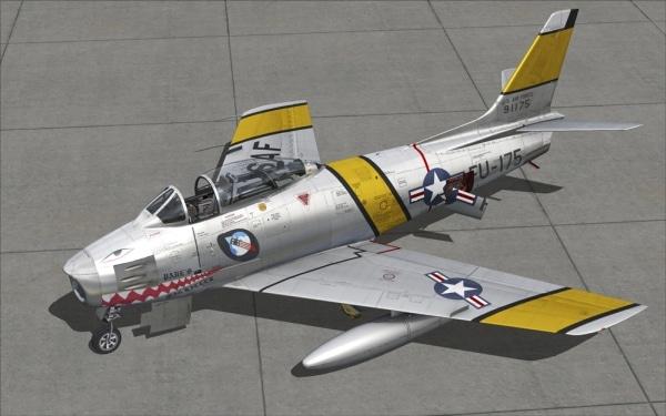 MILVIZ - North American F-86 Sabre