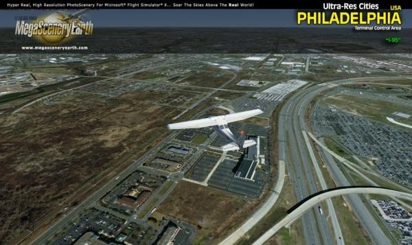 PC AVIATOR - Megascenery Earth - Ultra-Res Cities - Philadelphia