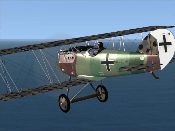 FLYFREESTD - Pfalz D.IIIa e D.XII