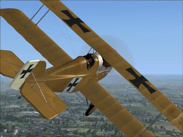 FLYFREESTD - Aviatik D.I