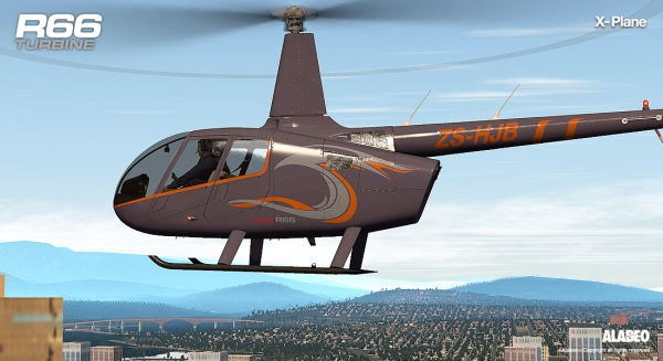 LABEO - R66 Turbine X-Plane