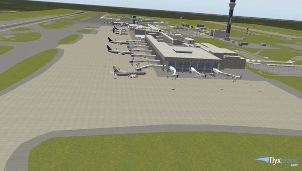 FLYXPLANE - Cancún International Airport  X-Plane 10