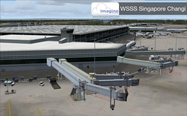 IMAGINE SIM - Singapore changi WSSS