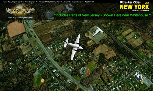 PC AVIATOR - Megascenery Earth - Ultra-Res Cities - New York