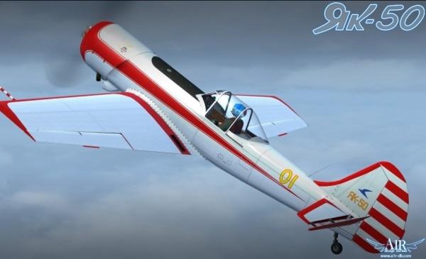 A1R DESIGN BUREAU - Yakovlev Yak-50