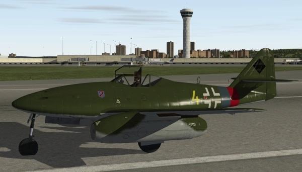 MLADG -  Messerschmitt 262 Schwalbe X-Plane