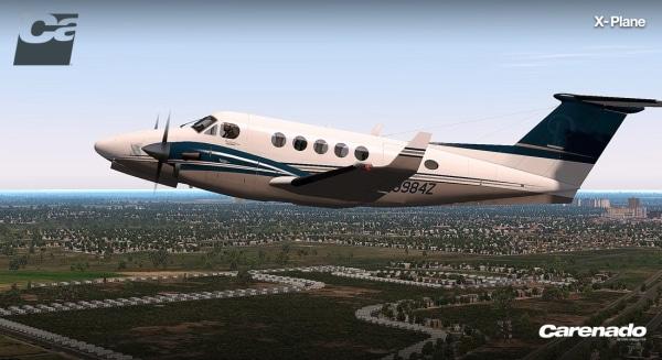 CARENADO - B200 King Air Hd Series X-Plane