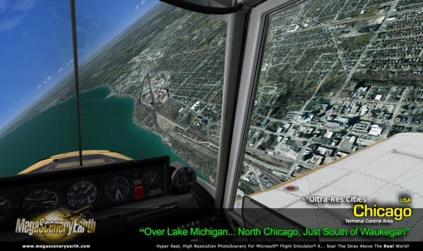 PC AVIATOR - Megascenery Earth - Ultra-Res Cities - Chicago