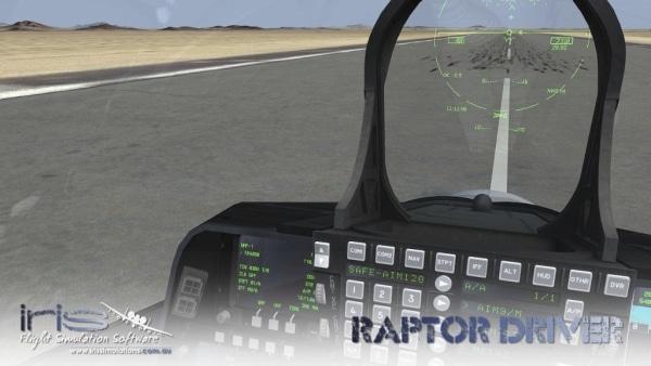 IRIS AIRFORCE SERIES - Raptor Driver
