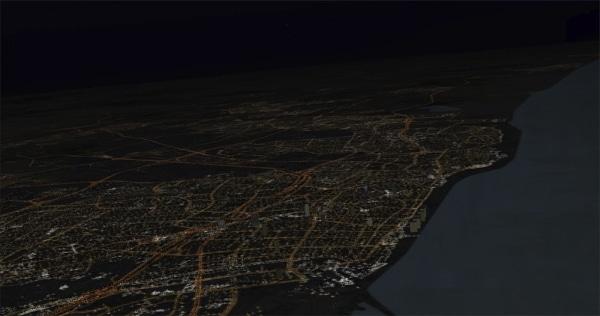 AEROSOFT - Night Environment - Israele