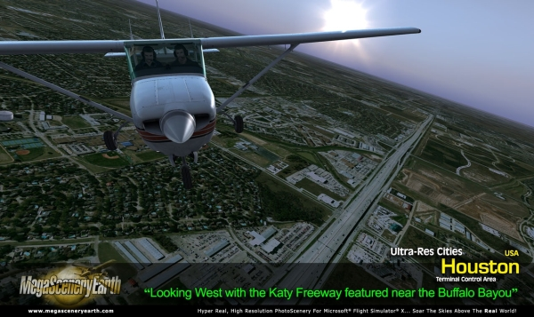 PC AVIATOR - Megascenery Earth - Ultra-Res Cities - Houston