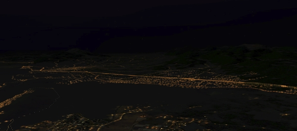 AEROSOFT - Night Environment - Grecia