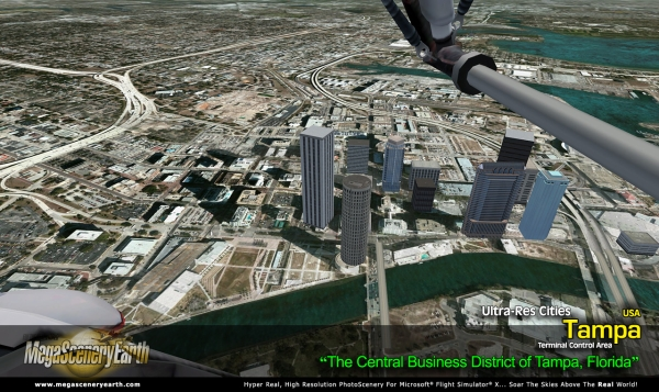 PC AVIATOR - Megascenery Earth - Ultra-Res Cities - Tampa