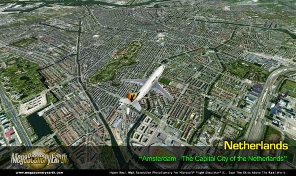 PC AVIATOR - Megascenery Earth - Paesi Bassi