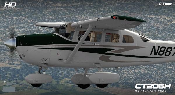 CARENADO - CT206H Stationair Hd Series X-Plane