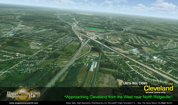 PC AVIATOR - Megascenery Earth - Ultra-Res Cities - Cleveland