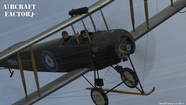 AIRCRAFT FACTORY - Avro 504K