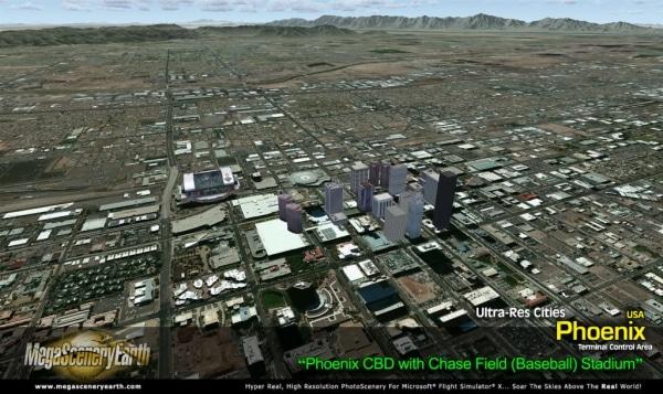 PC AVIATOR - Megascenery Earth - Ultra-Res Cities - Phoenix
