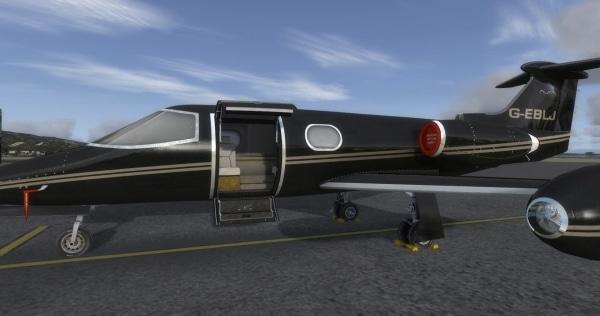 LIONHEART - LearJet 24B