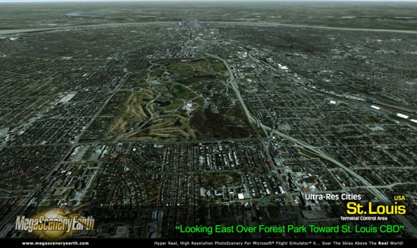 PC AVIATOR - Megascenery Earth - Ultra-Res Cities - St Louis
