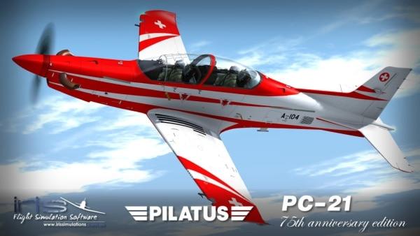 IRIS PRO TRAINING SERIES - Pilatus PC-21 - 75th Anniversary Edition